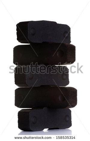 Lignite Coal Stock Images, Royalty.