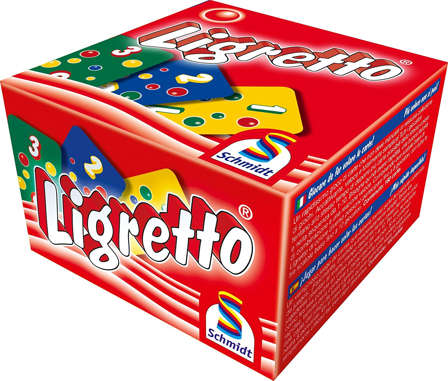 Schmidt Ligretto Red Edition Card Game: Amazon.co.uk: Toys & Games.
