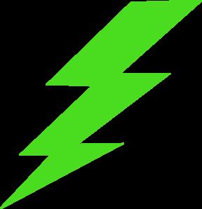 Green Lighting Bolt Clip Art at Clker.com.