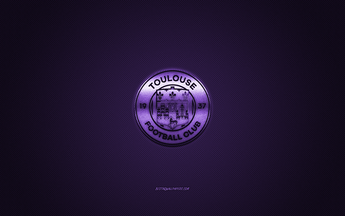 Download wallpapers Toulouse FC, French football club, Ligue.