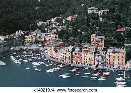 Stock Photo of Portofino, Liguria, Italy x14021974.