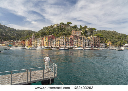 Ligurian Villages Stock Photos, Royalty.
