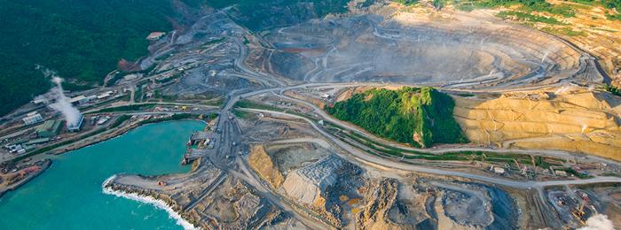 Environmental and social concerns at the Lihir gold mine.