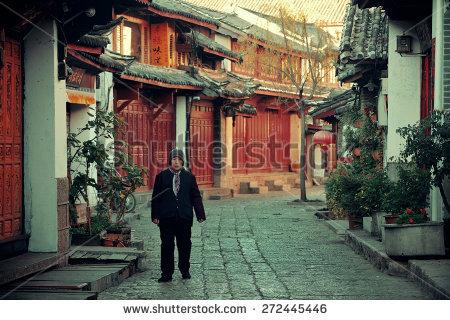 Lijiang China Stock Photos, Royalty.
