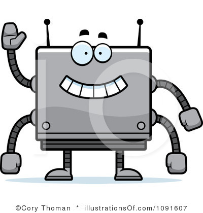 robotics clipart royalty free robot clipart illustration #1117693.