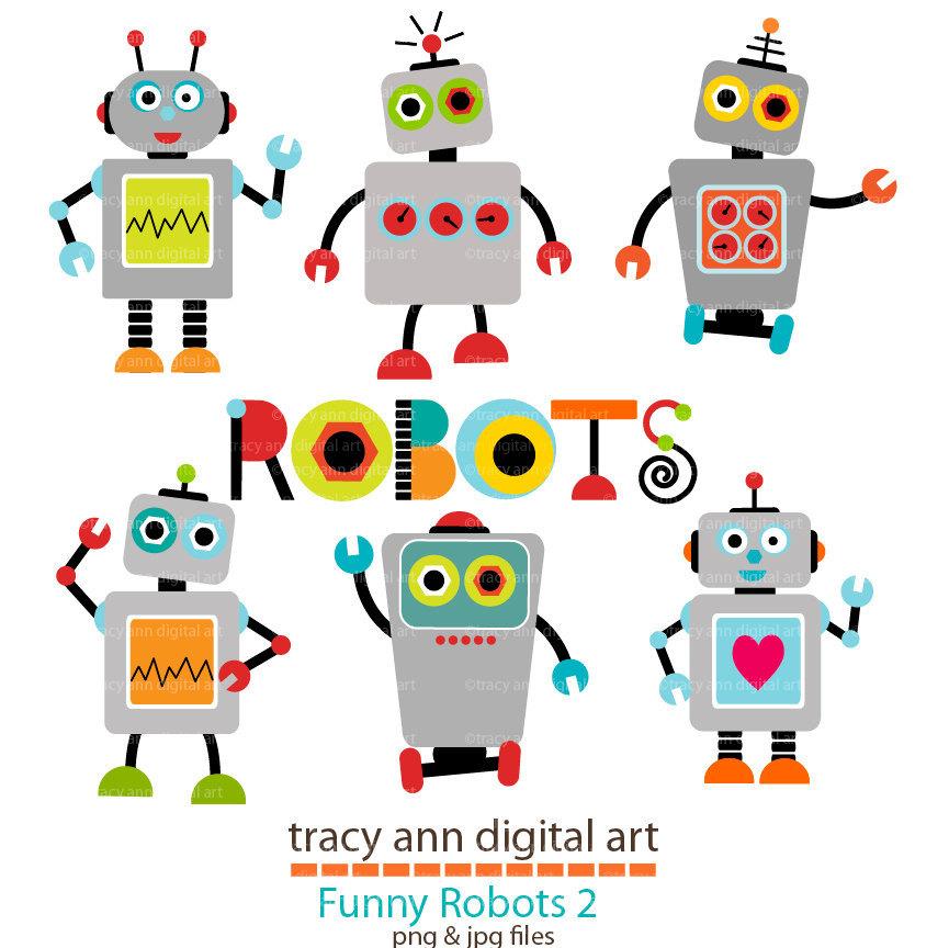 robots clipart toy robot clipart #1.