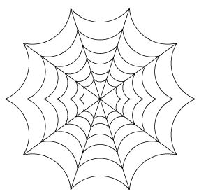 Tutorial: Making a Spider Web Drawing in Illustrator.