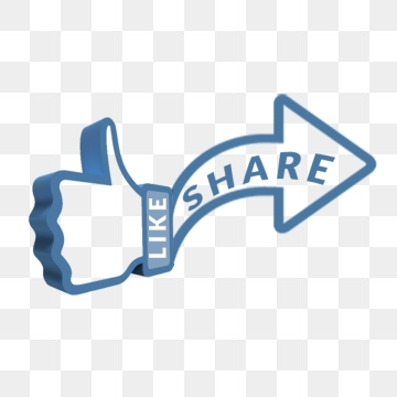 Share Button PNG Images.