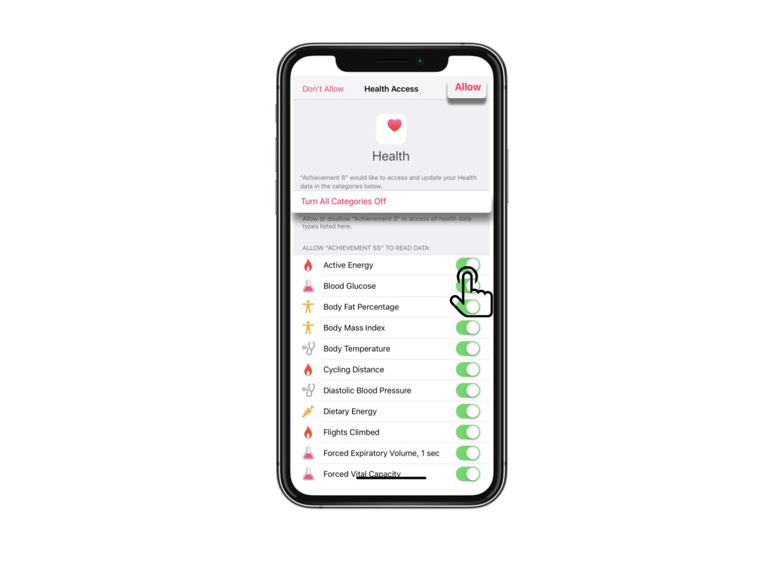 Apple Health Help Article.