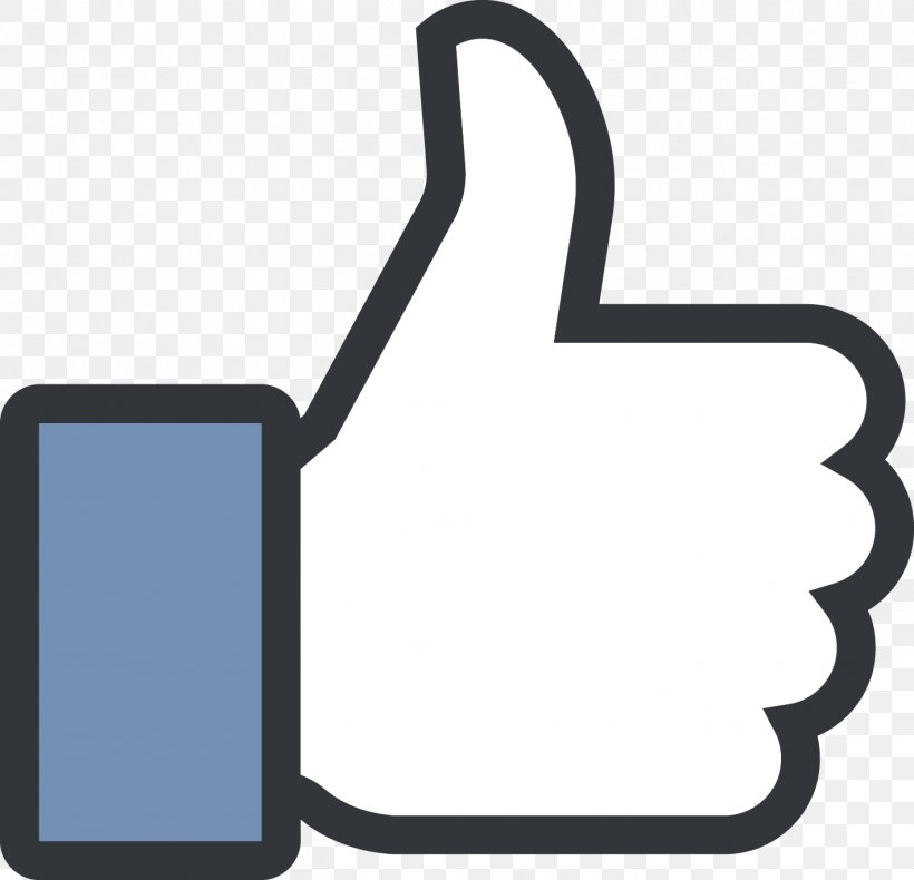 Social Media Facebook City Thumb Signal Like Button, PNG.