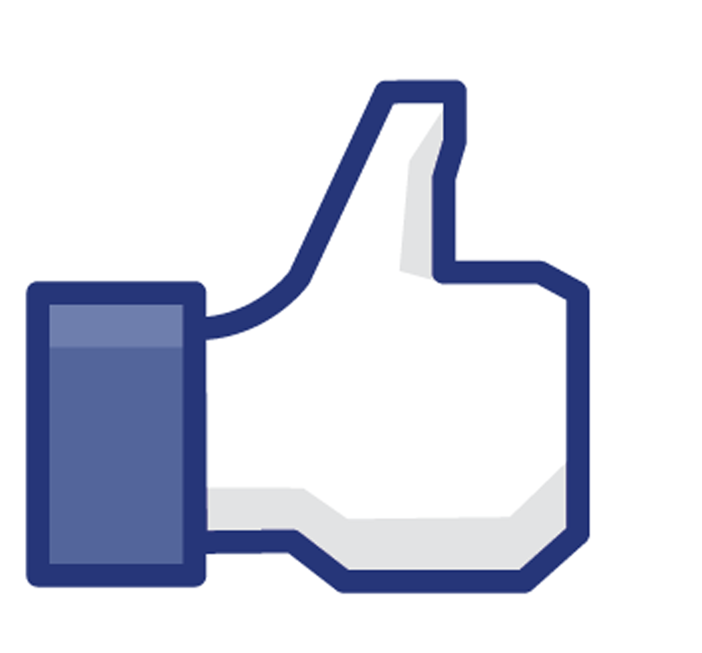 Logo like facebook clipart image #27608.