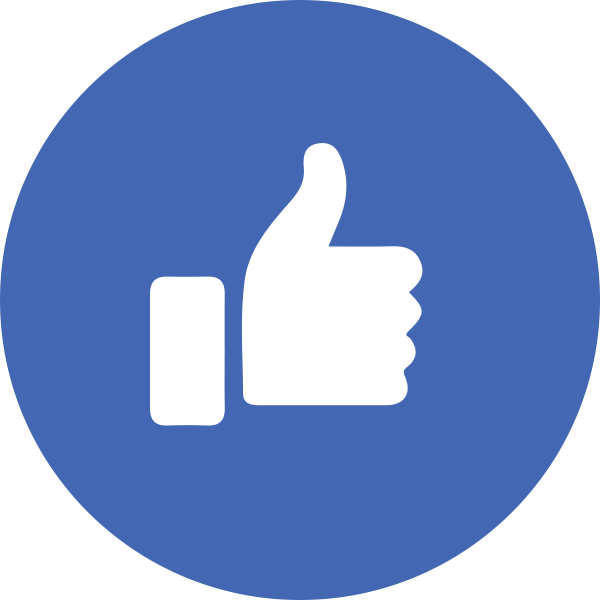 Facebook like button png clipart images gallery for free.