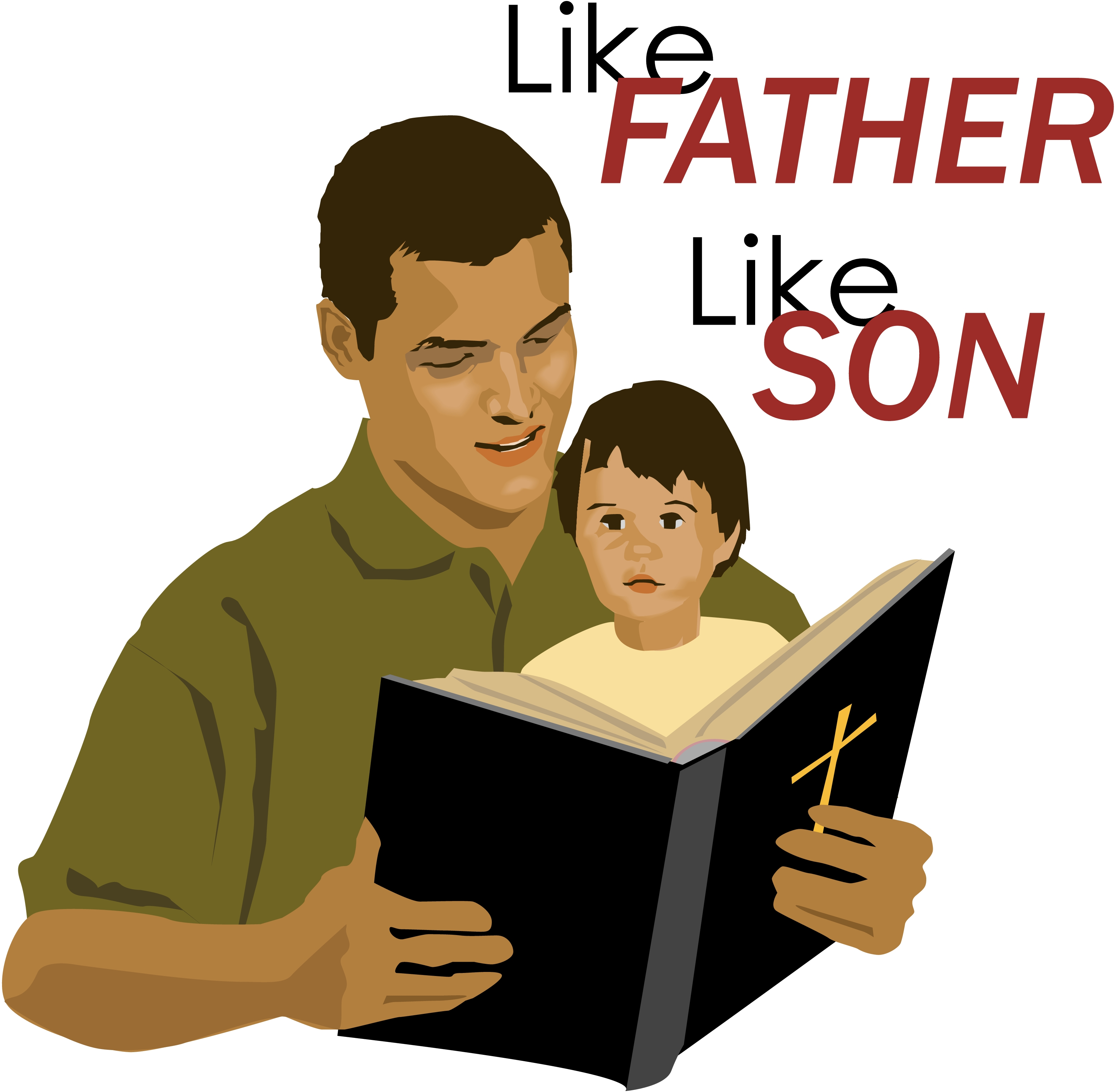 Like father like son clipart 5 » Clipart Station.