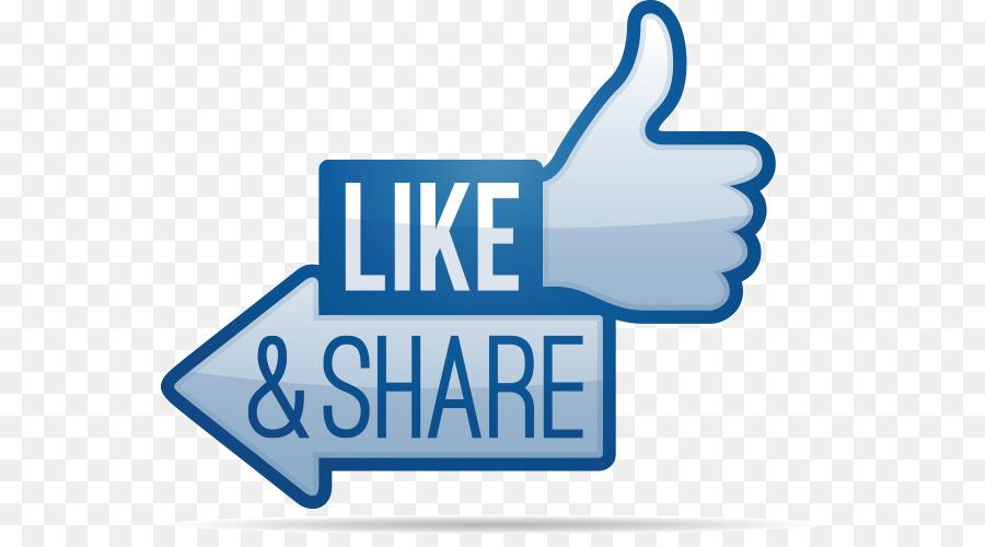 Facebook like button Share icon Clip art.