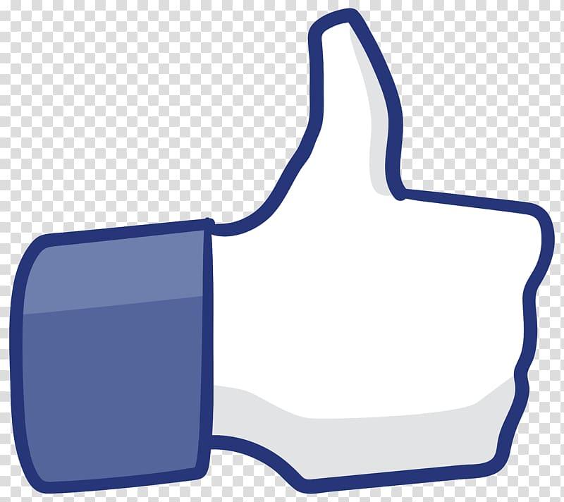 Facebook Like logo, Thumb signal , Thumb Up transparent.