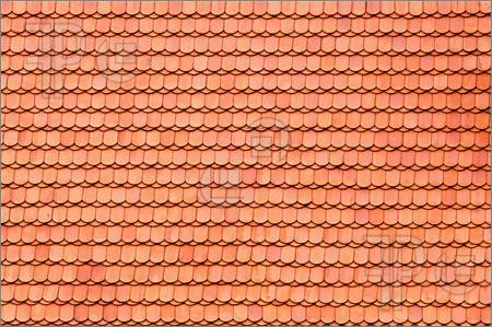Roof tiles clipart.
