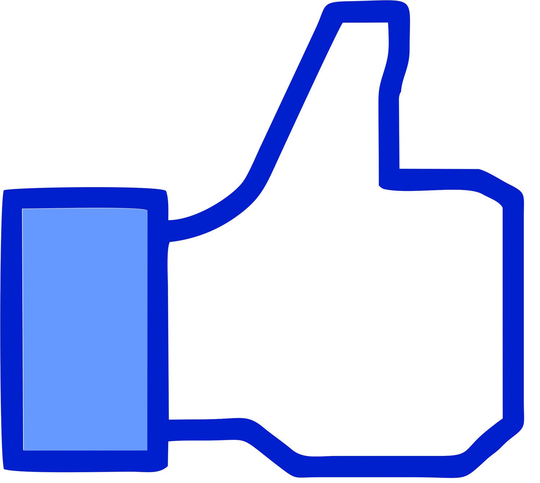 Facebook like button Clip art Thumb signal.