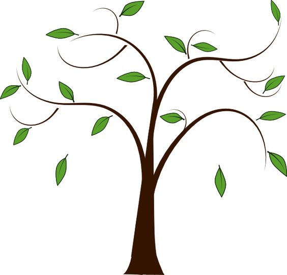 Copyright free clipart tree.