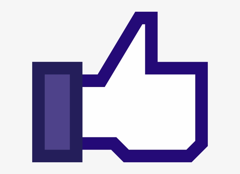 Like Us Facebook Clipart Image.