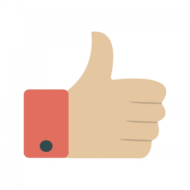 Like Vector Icon, Thumbs Up Icon, Thumb Up Icon, Thumbs Up.