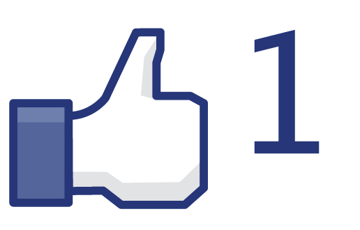 Facebook likes clipart.