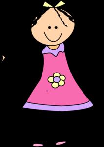 Little Girl Clip Art at Clker.com.