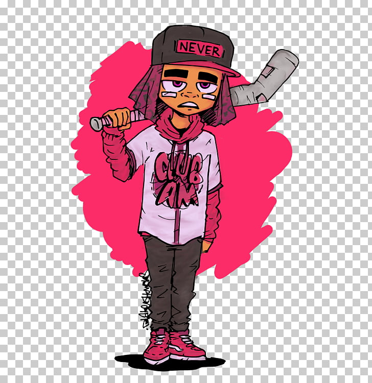 Cartoon Drawing Illustrator, Lil Uzi Vert PNG clipart.