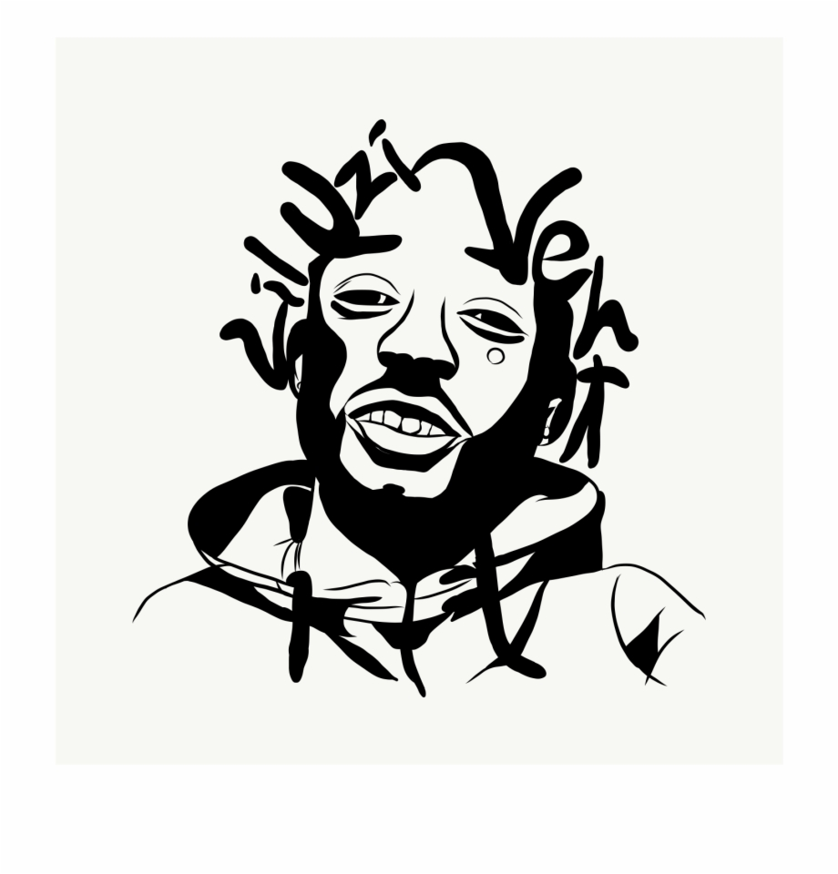 Drawings Of Lil Uzi Vert Black And White.