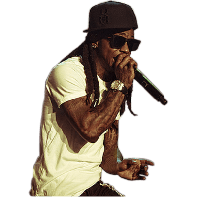 Lil Wayne Hi Mom transparent PNG.