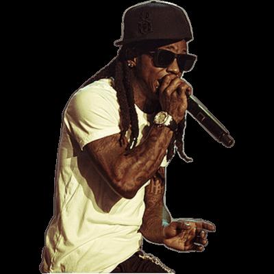 Lil Wayne Hi Mom transparent PNG.