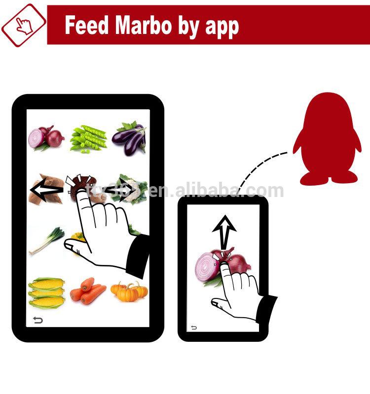 Toys Animated Talking Penguin Marbo.