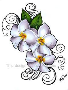 Lilac Flower Tattoo.