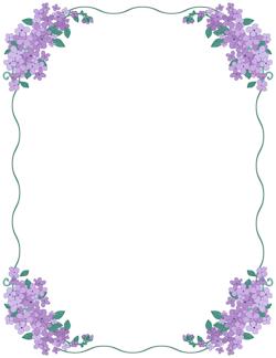 Lilac Border.