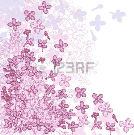 13,298 Lilac Flower Cliparts, Stock Vector And Royalty Free Lilac.