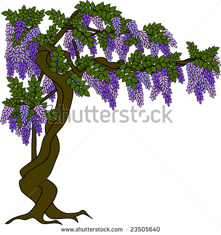Lilac Tree Clip Art.