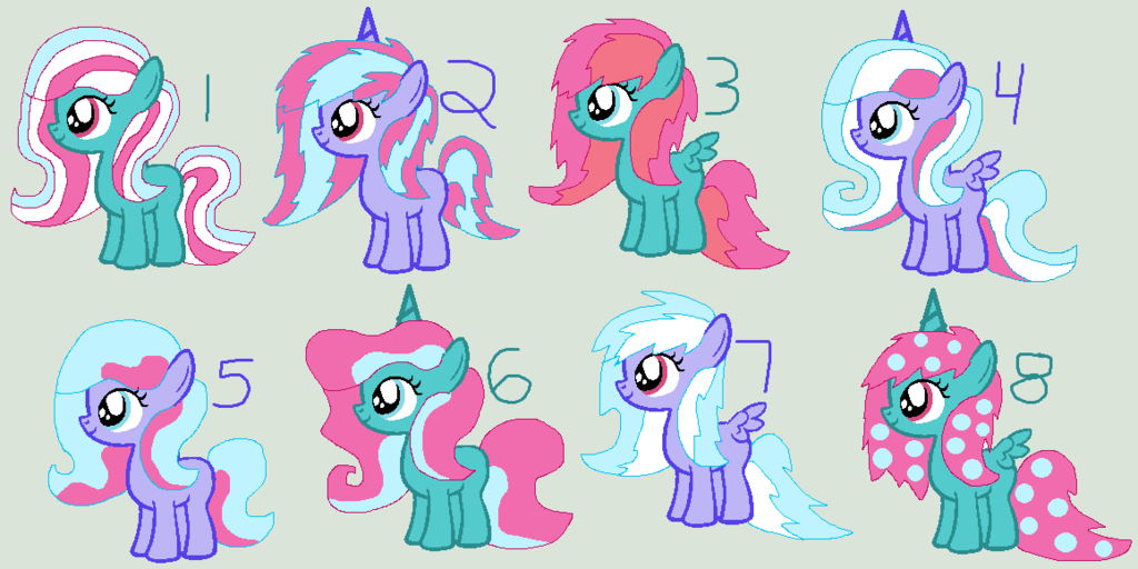 Sunlight Spring and Lilac Sky Adopts Open 3 Left by.