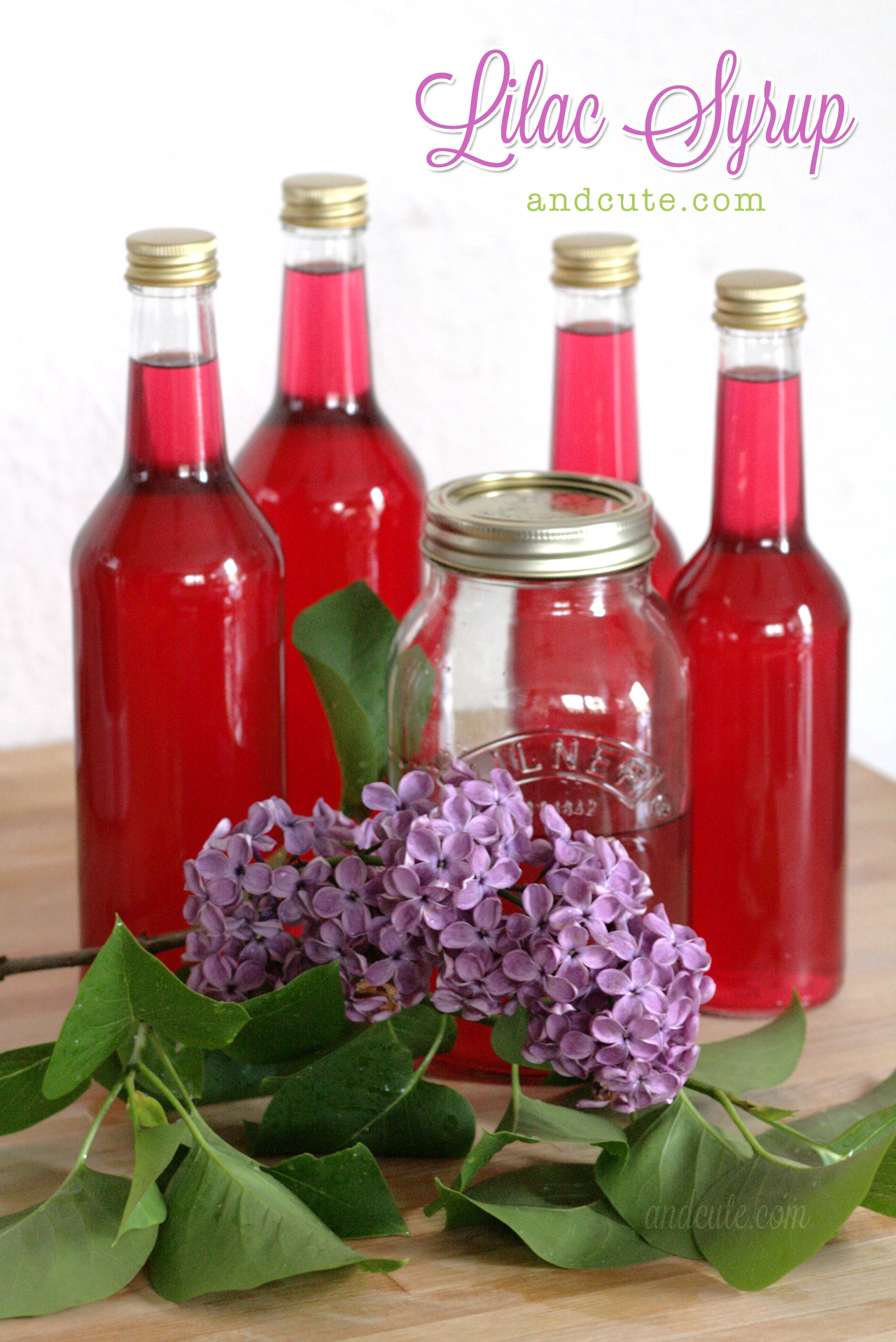 Lilac Syrup.