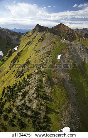 Stock Photography of Cayoosh Valley, Duffy Lake, Hiway 99.