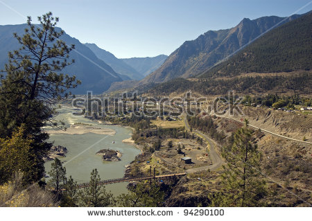 Lillooet River Stock Photos, Royalty.
