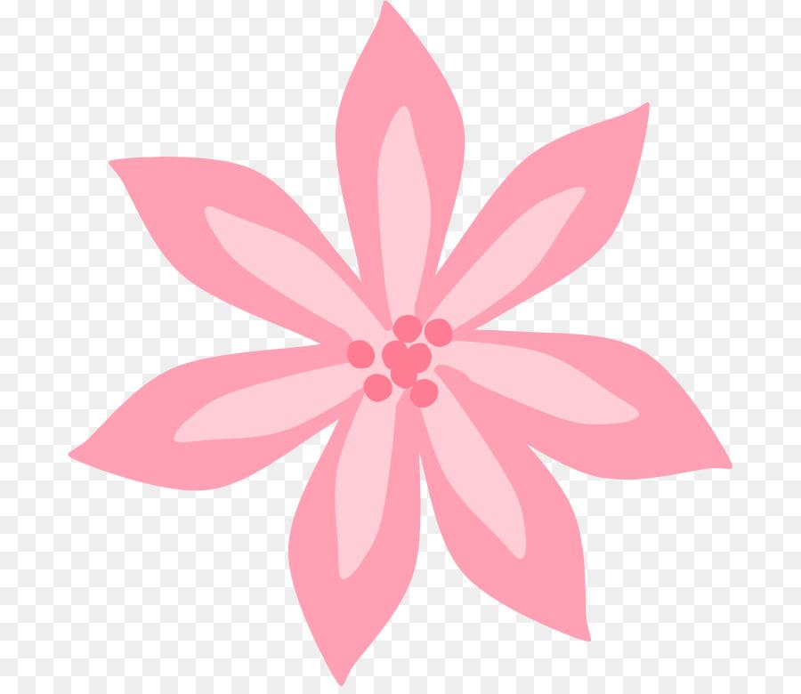 Tiger lily Lilium \'Stargazer\' Free Clip art.