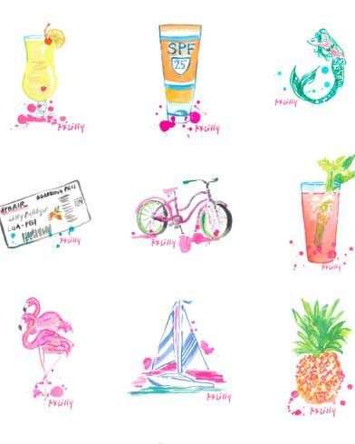 Lilly pulitzer clipart 6 » Clipart Portal.