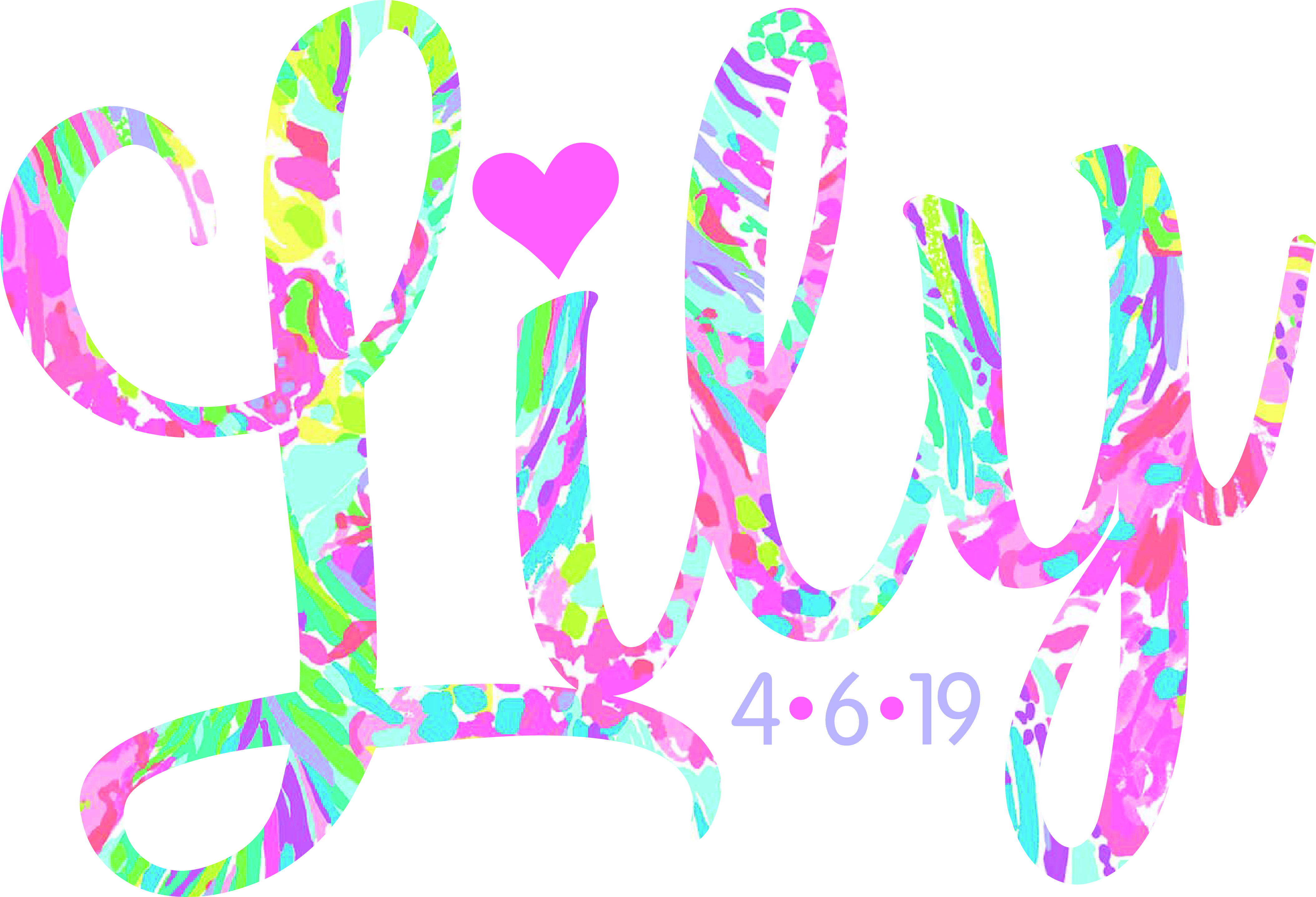 Want a designer logo? I used a Lilly Pulitzer background.