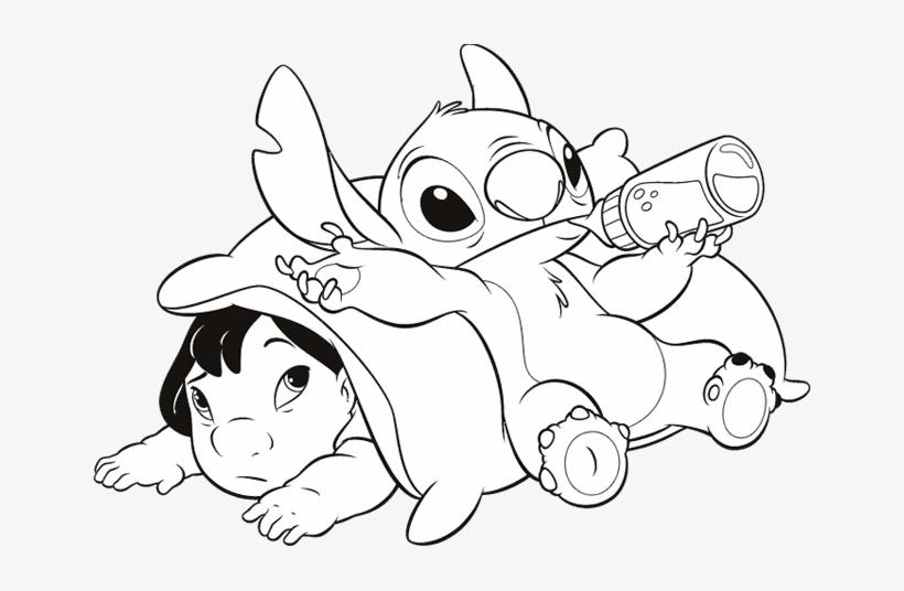 Drawing Lilo Stitch 143.