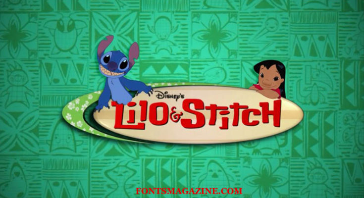 Lilo and Stitch Font Download.