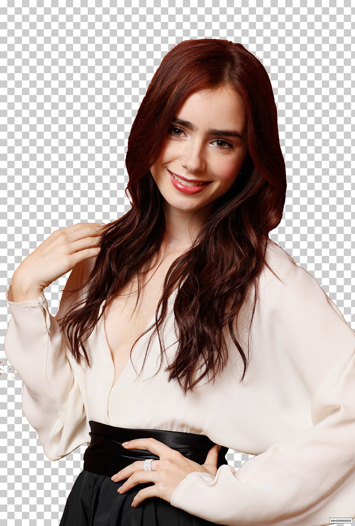 Lily Collins Love, Rosie Film Photo shoot, lily PNG clipart.