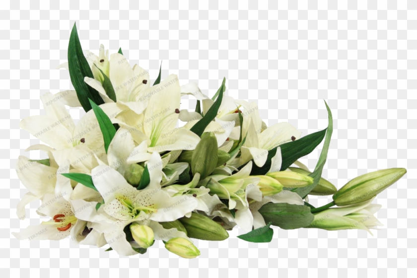 White Lily Bouquet.
