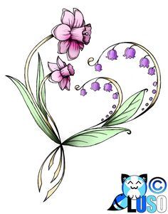Lily of the valley tattoos ideas images.