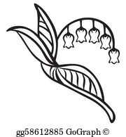 Lily Of The Valley Clip Art.