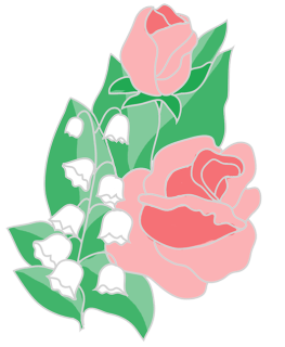 free flower clipart roses lilies of the valley.