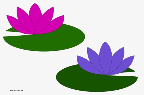 Free Lily Pads Clip Art with No Background.